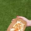 Картошка фри с хрустящим луком и сырным соусом Куш Street Food