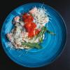 Паста с лососем и шпинатом  Ria Pizza на Дворцовой