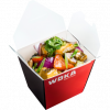 Морской окунь с овощами WOKA