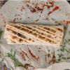 Лаваш с сыром и зеленью Шашлык-маркет