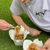 Лапша с говядиной и соусом терияки Куш Street Food