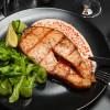 Стейк лосося на углях Рестобар SOVA